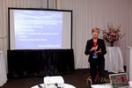 Ann Robbins (CEO of eDateAbility) at the 2011 Internet Dating Industry Conference in L.A.