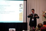 Douglass Lee (Vice President @ Click2Asia) at the 2011 Online Dating Industry Conference in Los Angeles