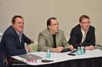 IDEA Session Panel - Max McGuire, Brian Bowman and Lorenz Bogaert at iDate2012 Miami