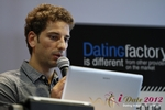 David Khalil (Co-Founder of eDarling) at iDate2012 Germany