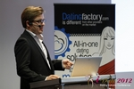 Florian Braunschweig (CTO of Lovoo) at the September 10-11, 2012 Cologne Euro Internet and Mobile Dating Industry Conference