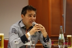 Final Panel (Benjamin Bak of Lovoo) at the 2012 Euro Internet Dating Industry Conference in Cologne