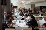 Lunch  at the September 10-11, 2012 Mobile and Internet Dating Industry Conference in Koln