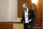 Matt Connoly (CEO of MyLovelyParent) at the 9th Annual E.U. iDate Mobile Dating Business Executive Convention and Trade Show