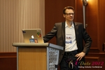 Moritz Von Tobiesen (Account Manager at Google) at the 2012 European Online Dating Industry Conference in Germany