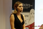 Oksana Reutova (Head of Affiliates at UpForIt Networks) at the September 10-11, 2012 Cologne Euro Internet and Mobile Dating Industry Conference
