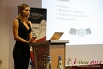 Oksana Reutova (Head of Affiliates at UpForIt Networks) at the 2012 Germany European Mobile and Internet Dating Summit and Convention