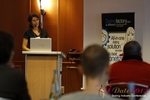 Tanya Fathers (CEO of Dating Factory) at the 2012 European Online Dating Industry Conference in Germany