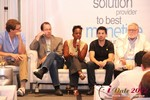 Robinne Burrell (VP at Match.com) during the Final Panel at iDate2012 California