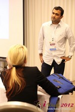 Dwipal Desai (CEO of TheIceBreak.com) covers monetization during a relationship at the 2012 Online and Mobile Dating Industry Conference in L.A.