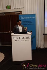 Santanu Basu (Sr Product Manager at Bing) at the June 20-22, 2012 California Internet and Mobile Dating Industry Conference