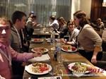 Lunch at the October 25-26, 2012 Mobile and Online Dating Industry Conference in Moscow