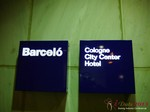 The Barcelo Hotel at the September 16-17, 2013 Cologne E.U. Internet and Mobile Dating Industry Conference