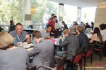 Lunch at the 2013 E.U. Online Dating Industry Conference in Cologne