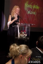 Nancy Miller, winner of 2013 Best Dating Coach at the iDate Awards