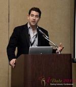 David Benoliel (VP of Avid Life Media) at the 10th Annual iDate Super Conference