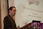 Mike Gregory (CEO of Wooyah) at the CEO Therapy session at the 10th Annual iDate Super Conference