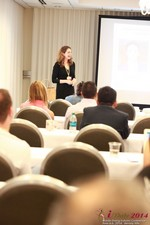 Jill James, COO of Three Day Rule Seminar On Partnership Models For Dating Leads To Online Dating at the 38th iDate2014 Beverly Hills