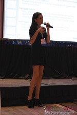 Rosalie Sutherland Of AnastasiaDate Speaking On Mobile Dating Conversions  at the June 4-6, 2014 Mobile Dating Business Conference in Beverly Hills