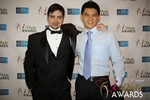 Arthur Malov & Kevin Feng  in Las Vegas at the 2014 Online Dating Industry Awards