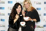 Marcella Romaya & Sheri Grande (Gluten Free Desert @ iDate) at the 2014 Las Vegas iDate Awards Ceremony