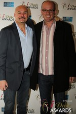 Sean Kelley & Benoit Le Chevallier  in Las Vegas at the 2014 Online Dating Industry Awards