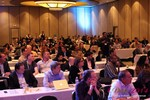 Audience at Final Panel Debate at Las Vegas iDate2014
