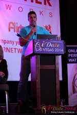 Nick Bicanic - Co-Founder @ IDCA at the January 14-16, 2014 Las Vegas Internet Dating Super Conference