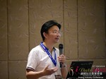 Dr. Song Li - CEO of Zhenai at the 2015 Asia and China Online Dating Industry Conference in Beijing