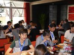Lunch at the May 28-29, 2015 Beijing China Internet and Mobile Dating Industry Conference
