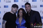 Sean Christian, Carmelia Ray and Doron Kim at the 2015 Internet Dating Industry Awards Ceremony in Las Vegas