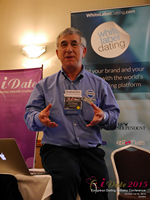 Dave Wiseman Vice President Of Sales And Marketing Speaking To The European Dating Market On Scam Detection Technology at the 2015 London European Mobile and Internet Dating Expo and Convention
