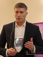 Hristo Zlatarsky CEO Elitebook.bg With Insights On The Bulgarian Mobile And Online Dating Market at the U.K. & E.U. iDate conference and expo for matchmakers and online dating professionals in 2015