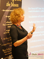Mary Balfour CEO And Managing Director Of Drawing Down The Moon  at the October 14-16, 2015 London U.K. & E.U. Internet and Mobile Dating Industry Conference