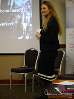 Megan Buquen CEO Matchmakers Circle  at the U.K. & E.U. iDate conference and expo for matchmakers and online dating professionals in 2015