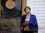 Pauline Tourneur General Manager Of Attractive World Speaking On The French Online And Mobile Dating Market  at the 12th Annual U.K. & E.U. iDate Mobile Dating Business Executive Convention and Trade Show