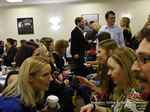 Speed Networking Among CEOs General Managers And Owners Of Dating Sites Apps And Matchmaking Businesses  at the 12th annual U.K. & E.U. iDate conference matchmakers and online dating professionals in London