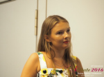 Svetlana Mukha - CEO of Diolli at the 45th Premium International Dating Business Conference in Limassol,Cyprus