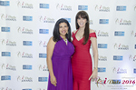 Damona Hoffman and Julie Spira  at the January 26, 2016 Internet Dating Industry Awards Ceremony in Miami