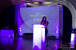 Jenny Gonzalez Presenting the Best Payment System Award at the January 26, 2016 Internet Dating Industry Awards Ceremony in Miami