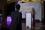 Svetlana Mukha Presenting the Best Up & Coming Dating Site Award at the 2016 Internet Dating Industry Awards Ceremony in Miami