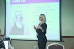 Ane Auret, CEO, presenting on Coaching Programs that work at the September 26-28, 2016 event for global online dating and matchmaking professionals in Londres