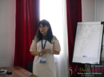 Elena Vygnanyuk at the 49th Dating Agency Industry Conference in Misnk, Belarus