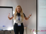 Julia Lanske at the 2017 Dating Agency Industry Conference in Misnk, Belarus