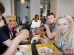 Lunch at the July 19-21, 2017 International Romance Industry Conference in Misnk, Belarus