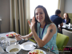 Lunch at the 2017 Misnk, Belarus Dating Agency Summit and Convention