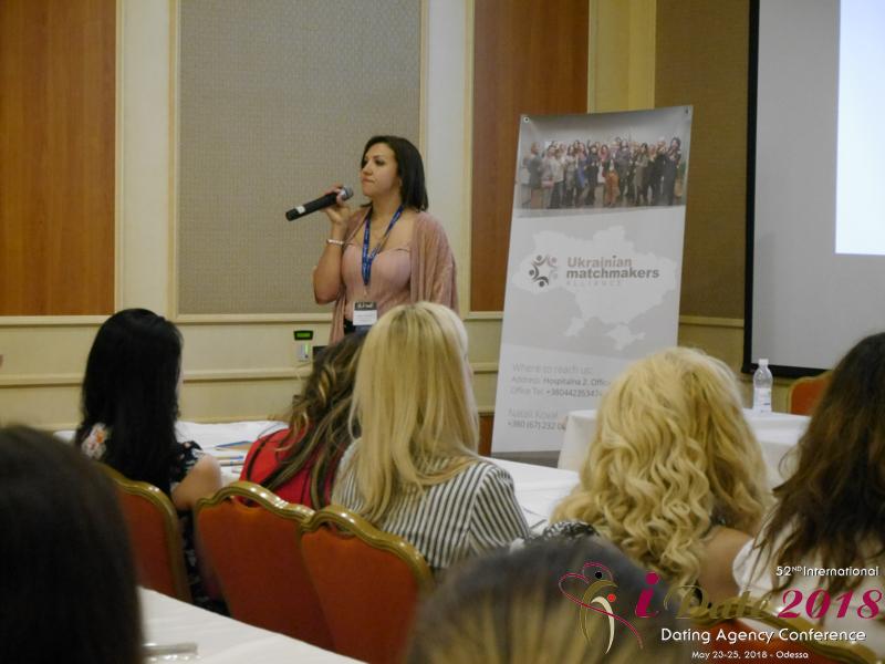 Anna Panasenko - Business Development at A Foreign Affair at the 52nd iDate2018