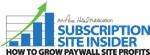 Subscription Site Insider